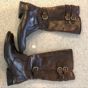 Born Leather Boots 7.5